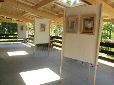 Le Cabinet d`art contemporain - espace terrasse - Haute-Marne (52)
