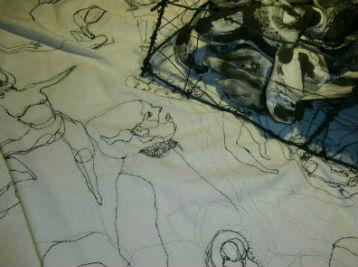Niki NEUTS Exposition Les Week-ends Art 52 - détail